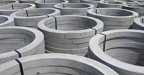 manholes - concrete grade adjustment rings