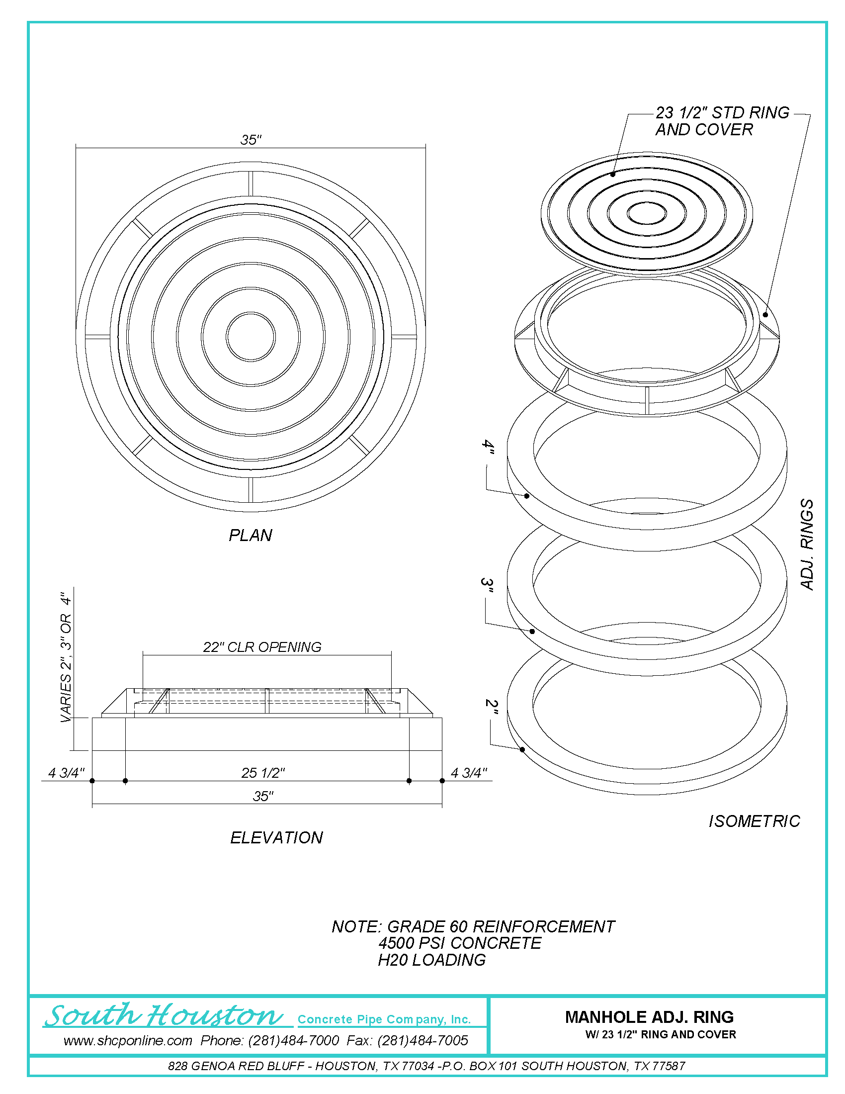 Manholes Storm Manholes Manhole Adjustment Rings And